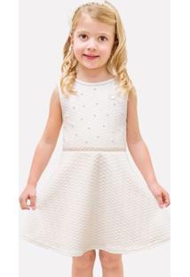 Vestido Infantil Milon Malha Trabalhada 11939.0452.10