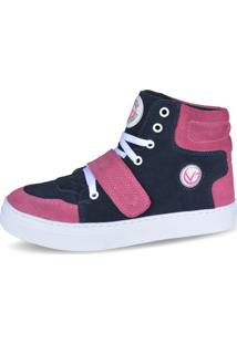 Sneaker Lughato V2 Azul Rosa