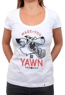 Made You Yawn - Camiseta Clássica Feminina