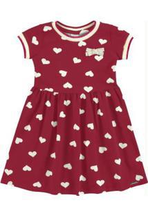 Vestido Malha Cotton Soft Vermelho