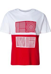 Camiseta Love (Bicolor, M)
