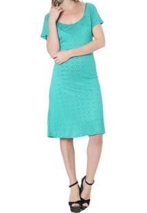 Vestido Moché Devorê Manga Curta - Feminino
