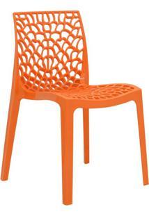 Cadeira De Jantar Gruv Laranja