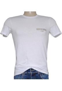 20630cd25 Camiseta Masc Cavalera Clothing 01.01.7217 Branco