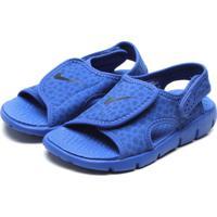 Sandália Nike Sunray Adjustable 4 Azul 110309f470d1a