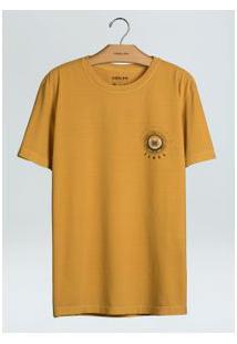 T-Shirt Stone Vintage Samba Experience-Ouro