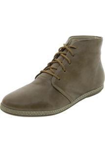 Bota Feminina Cano Baixo Tabaco Keenzo Shoes - Kr1330