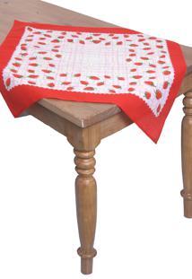 Toalha De Mesa Quadrada Lepper Decorativo Diana 75 Cm X 75 Cm