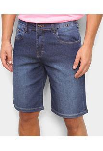 Bermuda Jeans Hurley Night Masculina - Masculino-Jeans