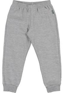 Calça Primeiros Passos Menino - Masculino-Cinza
