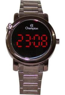 Relógio Champion Digital Ch48064O Feminino - Feminino-Marrom