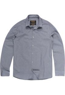 Camisa Masculina Tricoline
