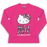 d7407a5723 Blusa Para Menina Hello Kitty Rosa infantil
