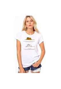 Camiseta Coolest Little Princess Hat Branco