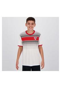 Camisa São Paulo Label Infantil Branca