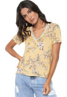 Camiseta Iódice Camila Amarela