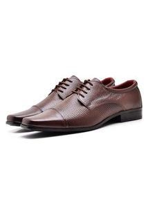 Sapato Social Masculino Em Couro Top Flex