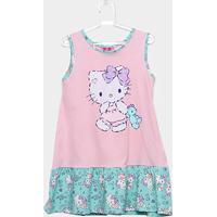 11db39bb5 Camisola Infantil Up Baby Hello Kitty - Feminino