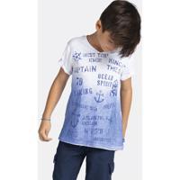 Camiseta Infantil Menino Em Malha Flamê De Algodão Com Modelagem Comfort Puc        8c7c81f49ebed