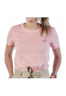 Camiseta Feminina Vaca Lôca - Rosa