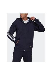 Jaqueta Capuz Adidas Sportswear 3-Stripes
