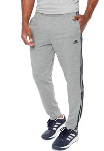 Calça Adidas Performance Ess 3S Pnt Cinza