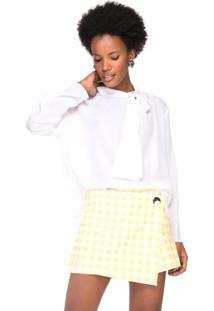 Camisa De Seda Estampa