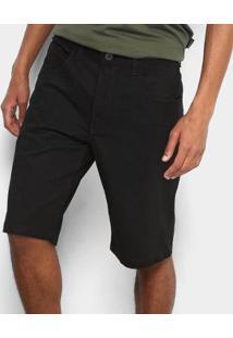 Bermuda Oakley 5 Pockets - Masculino-Preto