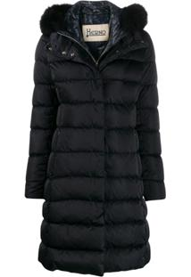 Herno Hooded Puffer Jacket - Azul