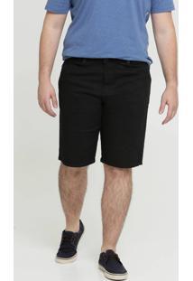 Bermuda Masculina Sarja Bolsos Plus Size Biotipo