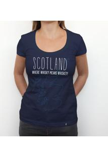 Scotland - Camiseta Clássica Feminina