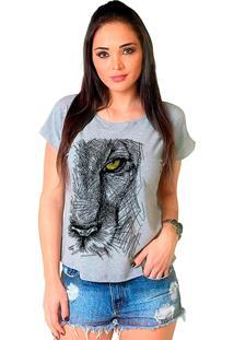 Camiseta Shop225 Feline Look Mescla