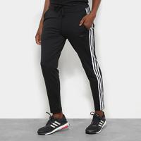 9291cdd48 Calça Legging Adidas D2M Climalite 3 Stripes Feminina - Feminino-Preto +Branco