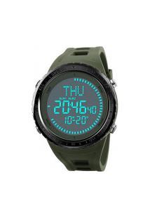 Relógio Skmei Digital -1342- Preto E Verde