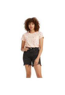 Camiseta Levi'S Perfect Pocket - 00150 Rosa