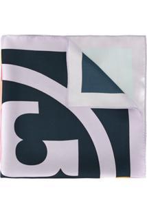 Tory Burch Lenço Color Block - Estampado