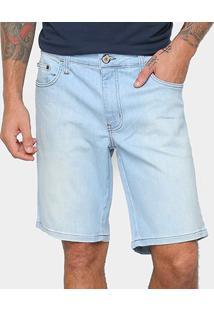 Bermuda Jeans Davi Colcci Masculino - Masculino-Jeans
