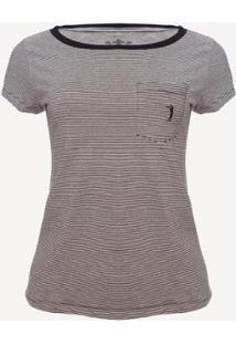 Camiseta Aleatory Style Feminina - Feminino-Cinza