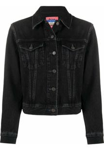 Acne Studios 1999 Denim Jacket - Preto