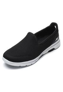 Slipper Skechers Go Walk 5 Preto