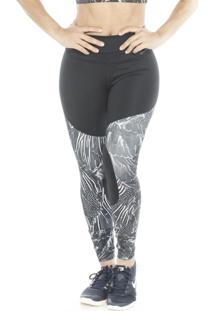 Legging Nike Power Tight Gym Flutter Print Feminina
