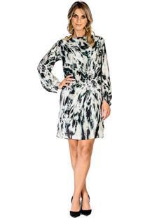 Vestido Estampado Nautica feminino  dcc834743a4c