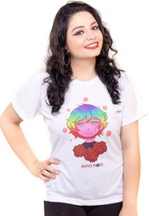 Camiseta Estampada Acme Inc Branca Assinada Por Nanami Nem - Kanui