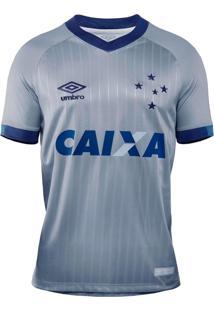 Camisa Umbro Cruzeiro Oficial Iii 2018 Infantil