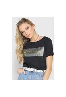 Camiseta Polo Wear Far Away Preta