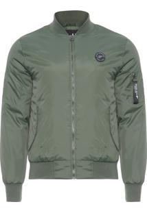 Casaco Masculino Coating Bomber Jacket - Verde