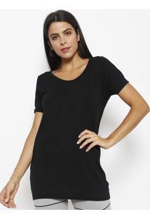 Camiseta Lisa Com Seamless Dryâ®- Pretalupo
