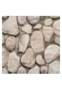 Papel De Parede Modern Rustic 122104 Vinílico Com Estampa Pedra