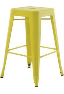 Banqueta Iron Medio Amarelo 61 Cm (Alt) - 43430 - Sun House
