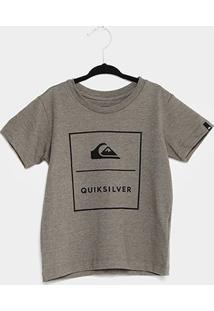 Camiseta Infantil Quiksilver Básica Simple Track Masculina - Masculino